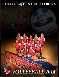 2014-2015 CF Volleyball Program