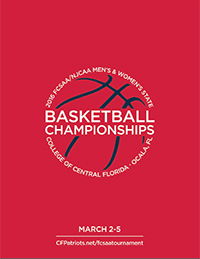 2016 FCSAA State Tournament Program cover