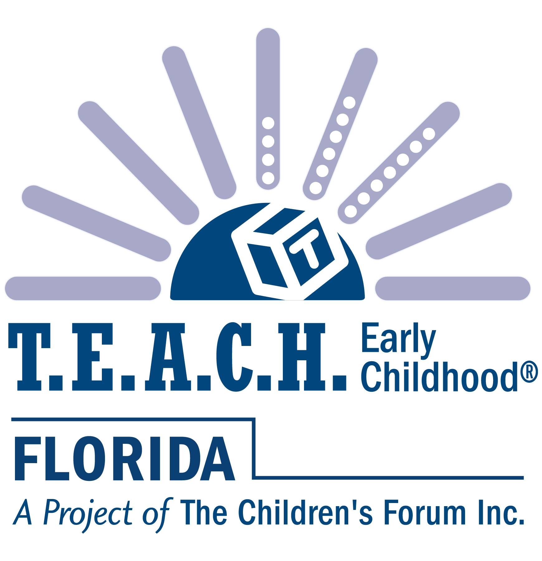 Logo for the Teach FL organization